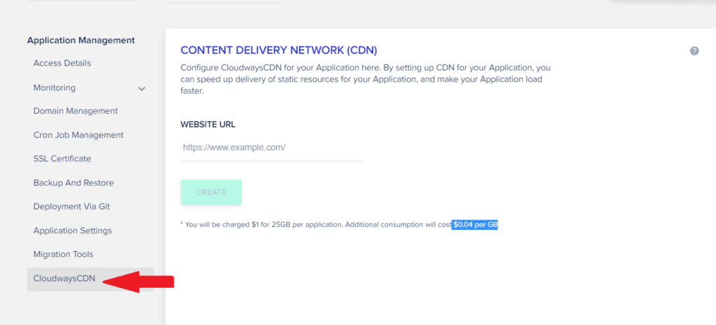 Cloudways CDN