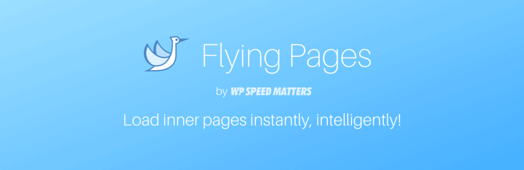 Flying Pages by WP Speed Matters