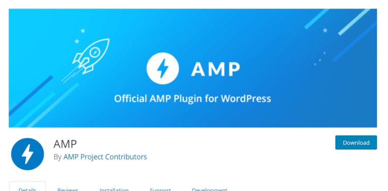 GeneratePress and AMP