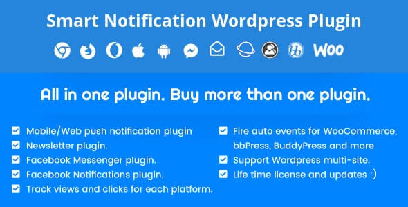 Smart Notification WordPress Plugin