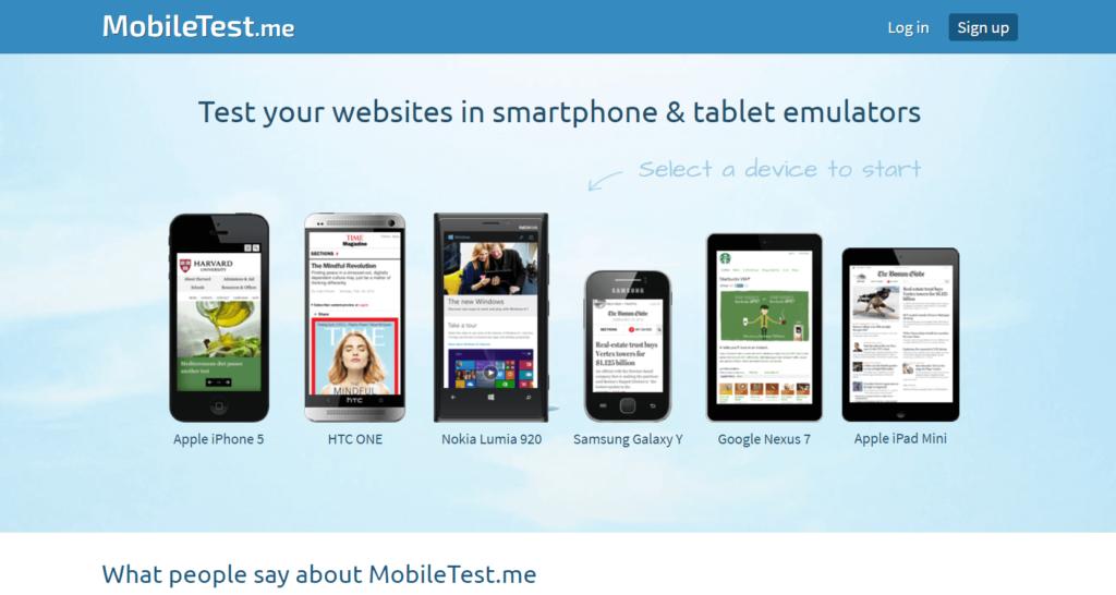 mobiletest.me