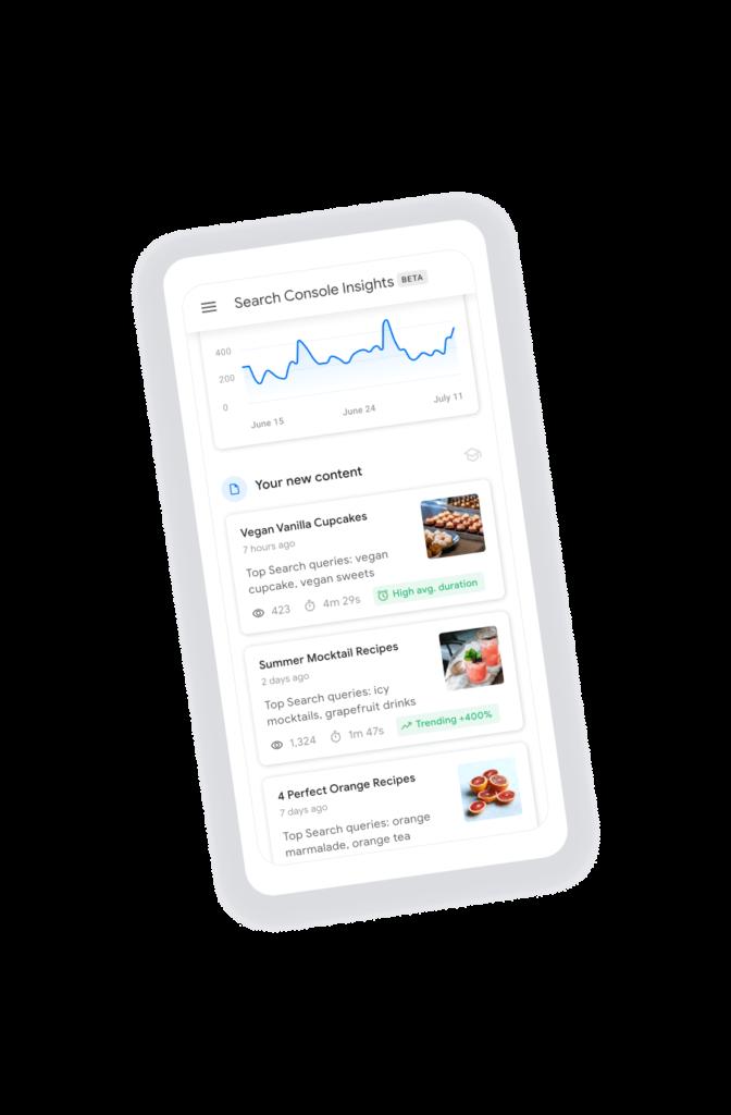 Search Insight Console Mobile
