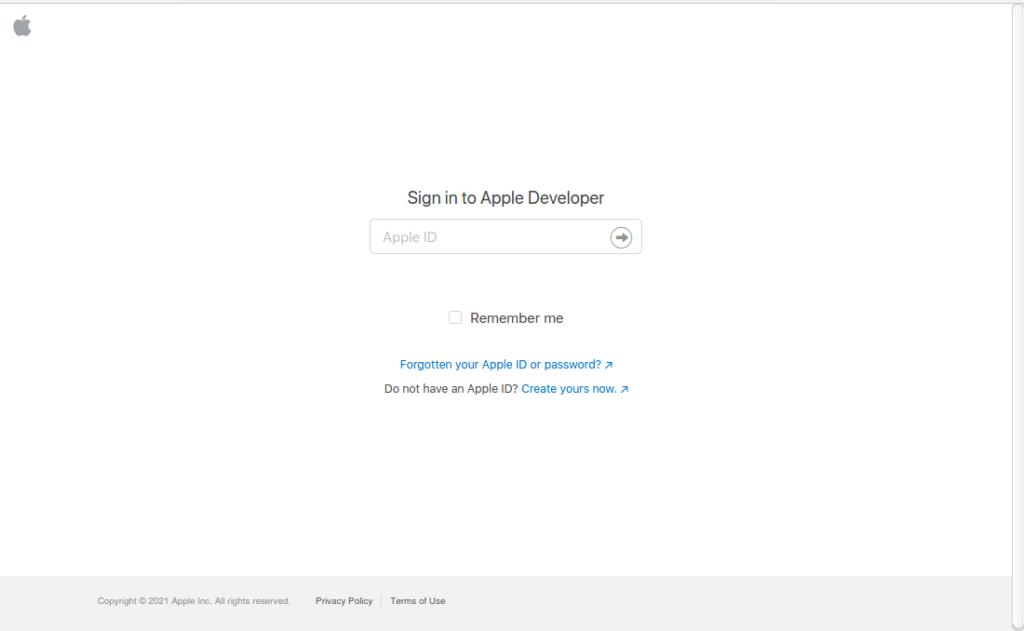Apple App Store publishing