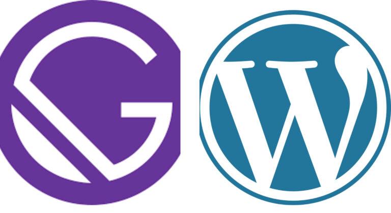 Gatsby vs WordPress