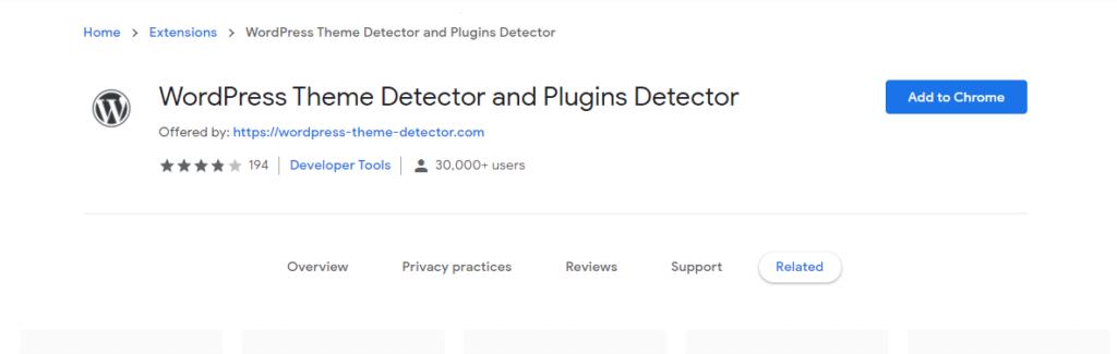 WordPress Theme Detector and Plugins Detector