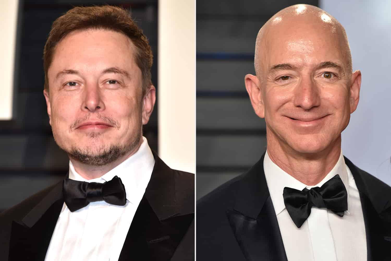 Elon Musk vs Jeff Bezos