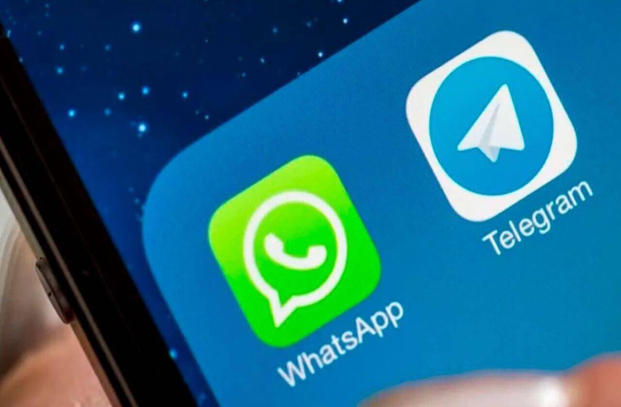 Telegramm gegen WhatsApp